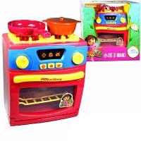 过家家儿童早教做饭仿真电饭煲厨房橱柜洗衣机女孩益智亲子玩具
