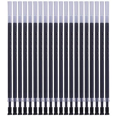 得力(deli) 6901 半针管黑色笔芯 中性笔/水笔/签字笔替芯0.5mm 20支/盒 当当自营