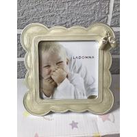 【现货】日本 宝宝相框周岁礼物出生礼物 米白色 洗6寸剪裁 其他尺寸