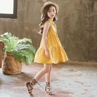 女童连衣裙夏装中大童夏季小女孩裙子儿童洋气裙