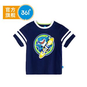 361度男童短袖针织衫2018年夏季新款N51824207