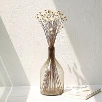 花器透明气泡玻璃花瓶现代简约家居摆件拍摄道具