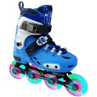 溜冰鞋儿童全套装男女直排轮滑鞋4-5-7-10岁初学者闪光旱冰鞋