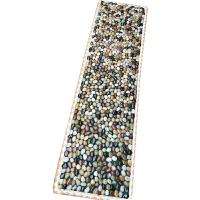 AOTU 足底按摩走毯脚底按摩垫雨花石鹅卵石按摩垫指压板足疗走毯石子路 150X40cm