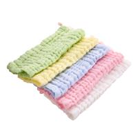 婴儿口水巾纱布宝宝洗脸巾喂奶小方巾初生儿毛巾围嘴手帕