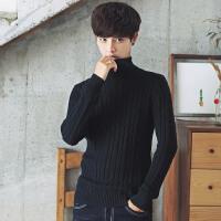 秋冬装男士毛衣韩版圆领长袖针织衫线衣潮流个性男装冬季外套高领