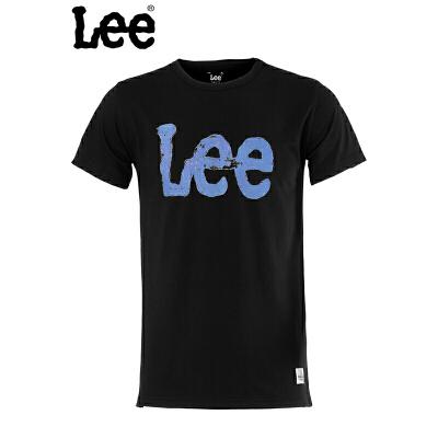 Lee 【断码】男士时尚字母短袖T恤LMY010J06K99