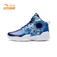 安踏儿童篮球鞋2019新鞋正品童鞋男童中大童风火轮运动鞋31911101