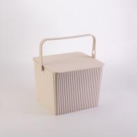 加厚带盖可坐方形收纳桶手提多用储物桶塑料浴框洗澡篮凳玩具浴室