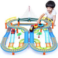 立昕托马斯小火车套装轨道玩具益智男孩电动汽车男童智力动脑3岁