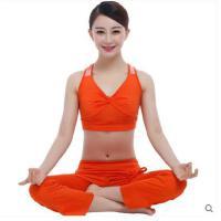 新款瑜伽服套装 套装女含胸垫健身服舞蹈愈加服户外
