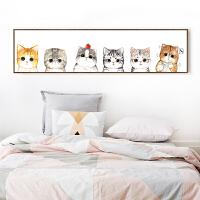 钻石画2018新款客厅满钻可爱猫咪点贴钻十字绣砖石绣卧室小幅2019