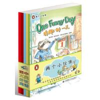 两个小伙伴--图文并茂、中英双语!一起走进小老鼠维维和小兔子珍珍的快乐校园生活!(美国引进)