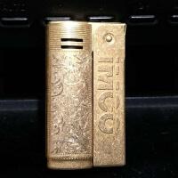奥地利品牌IMCO纯铜打火机6800 唐草万宝路 DIY双面 老式煤油