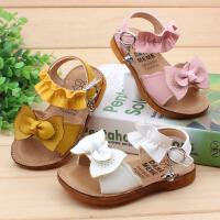 宝宝凉鞋1-2-3岁女童小童沙滩鞋19夏新款软底防滑幼儿学步鞋公主
