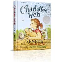 【英文原版】Charlotte Web Read-aloud Edition 夏洛特的网(大声朗读版) (精装)经典儿童文学读物