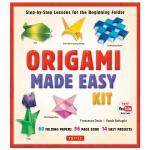 【预订】Origami Made Easy Kit,简易折纸工具包 英文手工制作原版图书