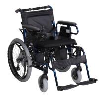 互邦 电动轮椅车 HBLD2-A22 老人助行器 活动扶手可三段升降可拆卸 靠背可折叠 活动挂脚可拆卸 高强度铝合金烤