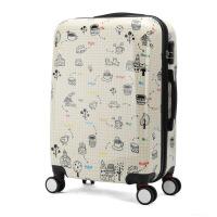 七夕礼物卡通行李箱万向轮拉杆箱24寸旅行箱学生登机箱