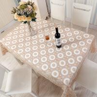 欧式餐桌布艺套装 圣诞桌布镂空刺绣提花系列 桌旗茶几垫盖布T