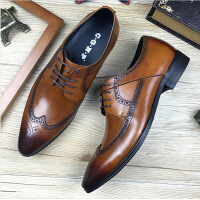 20180518025948189真皮布洛克夏季男鞋透气尖头复古雕花皮鞋男英伦商务正装婚鞋