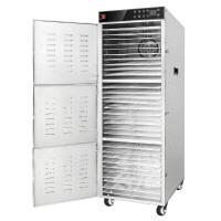 商用不锈钢干果机食品食物烘干机大容量30层水果蔬菜药材脱水风干
