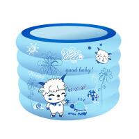 1米5层小孩游泳池儿童宝宝充气水池婴幼儿洗澡盆 充气游泳池