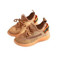 夏季透气网面女童运动鞋单鞋儿童椰子鞋2020新款软底春秋男童网鞋