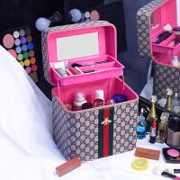 大容量化妆包韩国可爱手提化妆箱护肤品收纳包大小旅行洗漱包