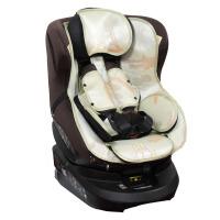 凉席适配于AILEBEBE/艾乐贝贝3i婴儿童安全座椅凉席宝宝凉席坐垫 冰露丝 薄荷绿 其它