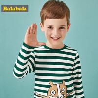 【3折价:29.7】巴拉巴拉儿童长袖T恤男童童装新款秋装宝宝上衣卡通印花休闲