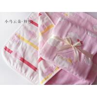 纱布浴巾新生儿婴儿包被宝宝纱布盖毯6层纯棉儿童空调被