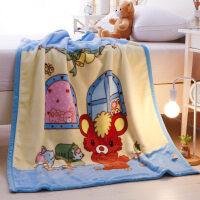 儿童婴儿毛毯双层加厚宝宝盖毯新生儿小毯子秋冬季双面珊瑚绒毯子J