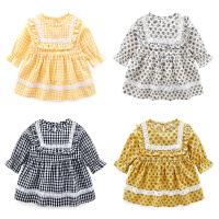 婴童装女宝宝连衣裙碎花裙夏季婴儿裙子公主裙夏装