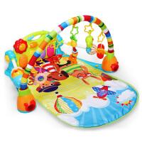 宝贝婴儿玩具脚踏钢琴健身架新生儿宝宝音乐
