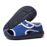 adidas阿迪达斯童鞋2018夏季新款运动鞋男婴童凉鞋BY2241