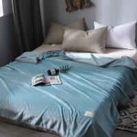 夏季毛毯午睡小毯子加厚珊瑚绒法兰绒冬季学生宿舍被床单人被子J 150cmx200cm 【单人毯】