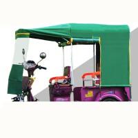 电动三轮车车棚加厚折叠车雨棚平板车休闲车棚雨棚全封闭篷