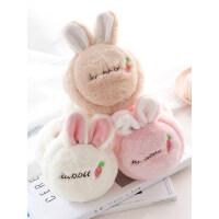 耳罩保暖女士冬季韩版可爱学生卡通兔耳朵套护耳毛绒折叠耳捂耳包