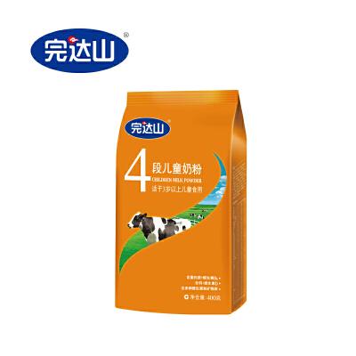 完达山 优巧 新段粉4段儿童奶粉400克袋完达山官方旗舰店,满80减14。