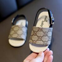 夏季女童凉鞋男宝宝软底沙滩鞋儿童公主鞋1-6岁
