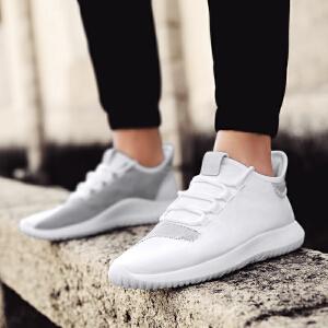 Mr.zuo2017夏季新款运动透气休闲鞋男士百搭绒面椰子板鞋韩版潮流跑步鞋