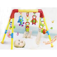 婴幼儿玩具 新生儿多功能脚踏琴健身架音乐玩具宝宝儿童早教益智礼盒装生日礼物