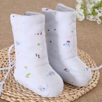 宝宝棉鞋婴儿保暖护脚套鞋套新生儿秋冬季