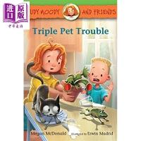 【中商原版】稀奇古怪小朱迪 宠物的麻烦 Judy Moody and Friends Triple Pet Troubl