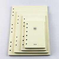 本木/活页笔记本替芯 环保简约横线内页纸95张9孔B5 6孔A5 A6 B7