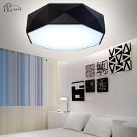 祺家 LED吸顶灯卧室灯现代简约客厅灯时尚个性可调光灯饰灯具IX62
