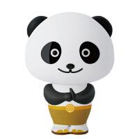 功夫熊猫灯语音控制台灯智能声控熊猫阿宝语音报时生日男女朋友礼物