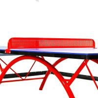 乒乒球网架 室外铁网架 乒乓球桌金属网子水泥球台网架红色HW