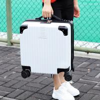 【特惠】2019优选轻便行李箱女小号18寸20密码箱男小型迷你旅行箱皮箱子登机拉杆箱